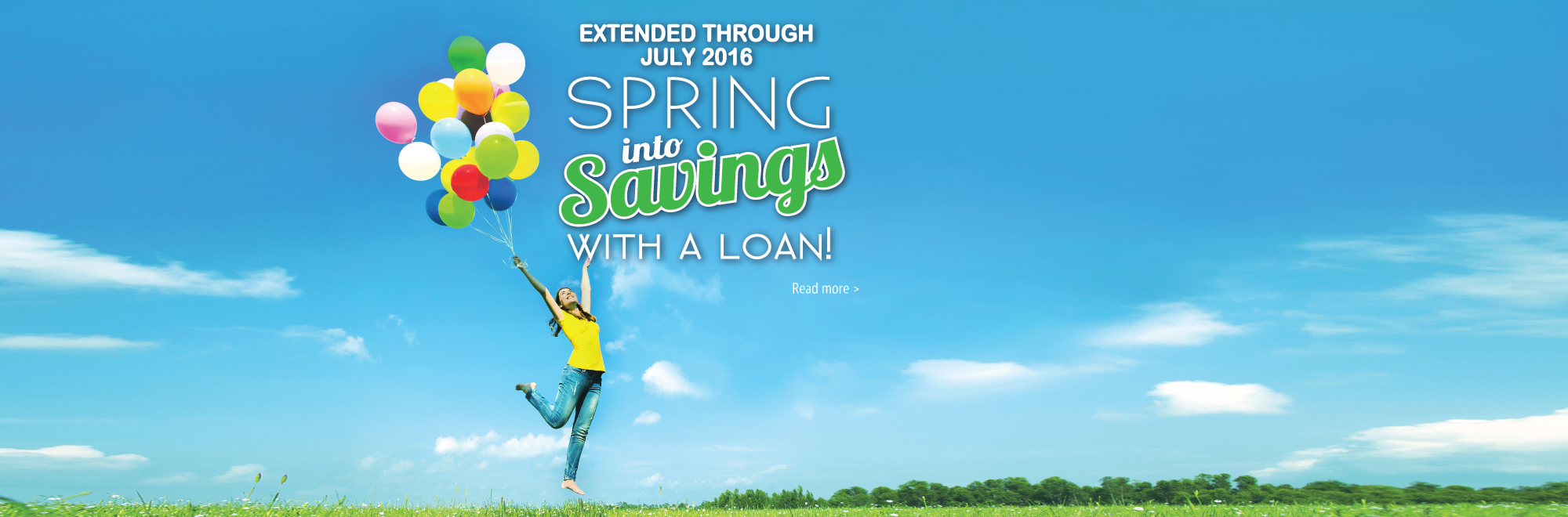 Spring into Savings with a Loan!