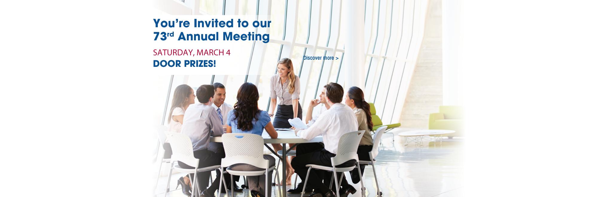 73rd Annual Meeting