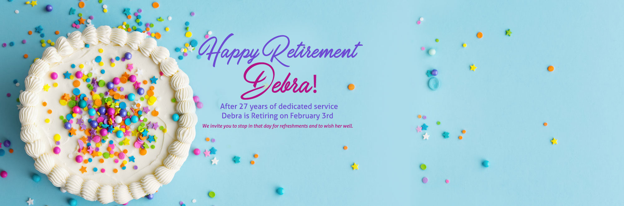 Debra Retirement